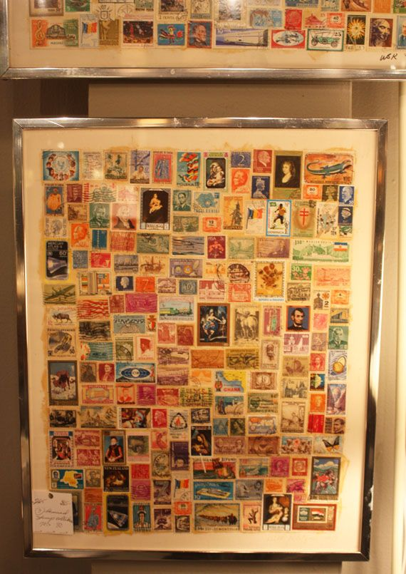 003 framed stamp collection…. What to do with grandpas old