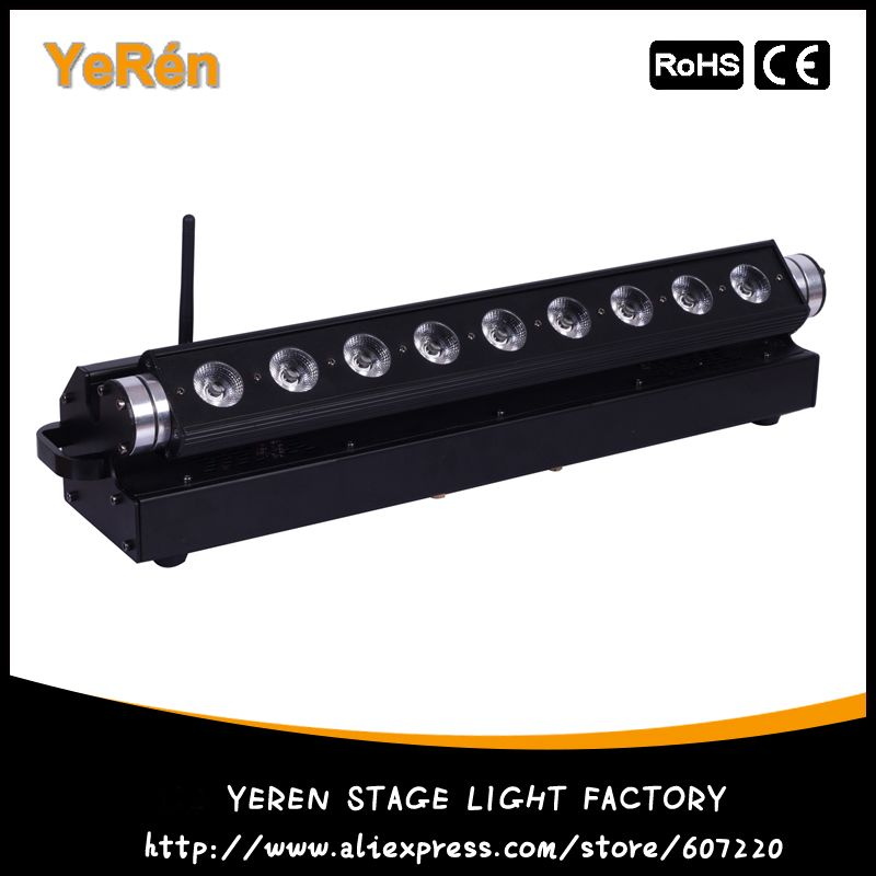 Free Shipping Battery Powerd Led Bar Light Led Wall Wash Light Dj Effect Light With Rgbwa Uv Wall Wash Lighting Bar Lighting Commercial Lighting