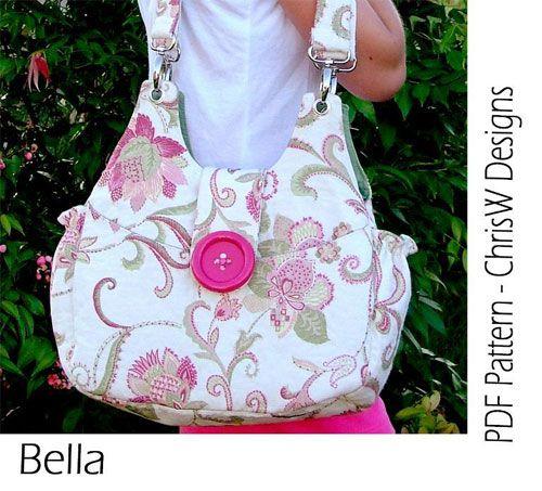 Bella Bag Sewing Pattern by ChrisW Designs
