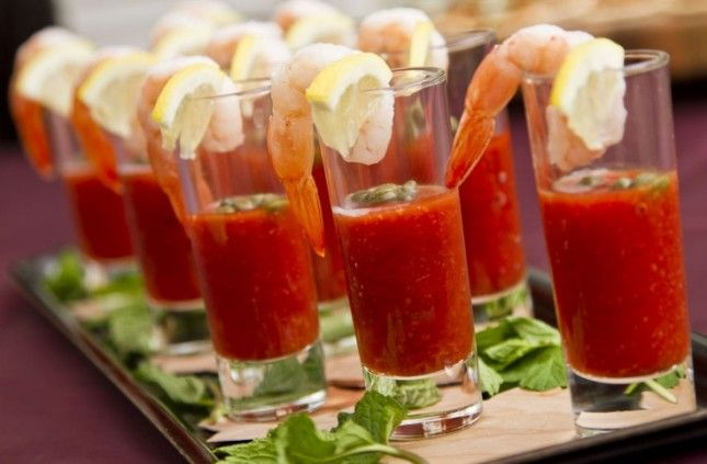Go retro at your next party with Shrimp Cocktail Shots.