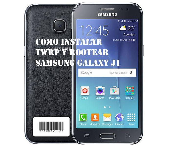Como instalar TWRP y Rootear Samsung Galaxy J1 Mini