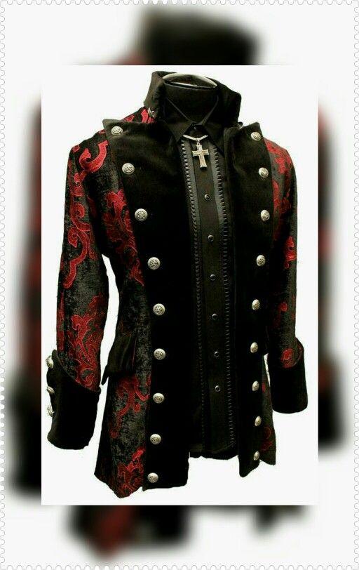 Victorian goth styl