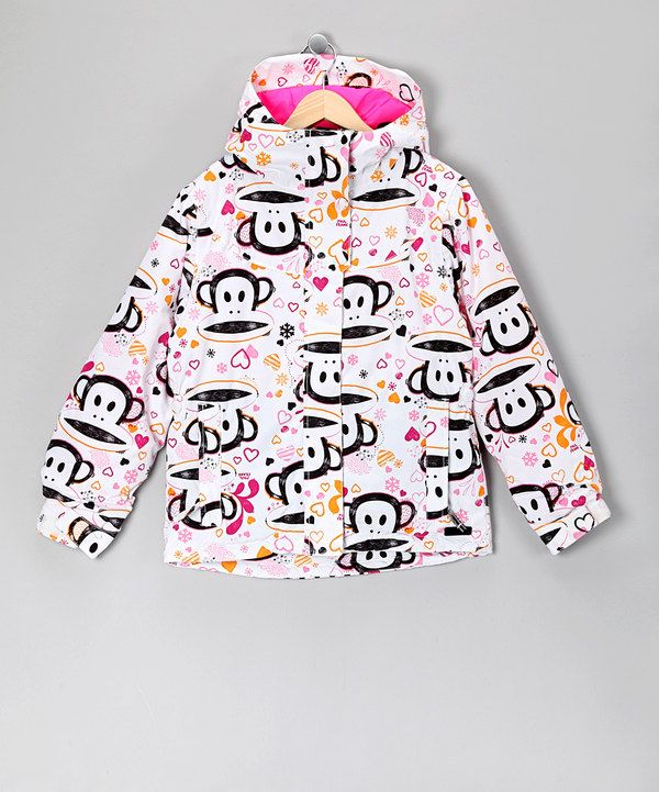 Como Acabar Con La Contracultura Take A Look At This White Julius Heart Jacket Girls On Zulily