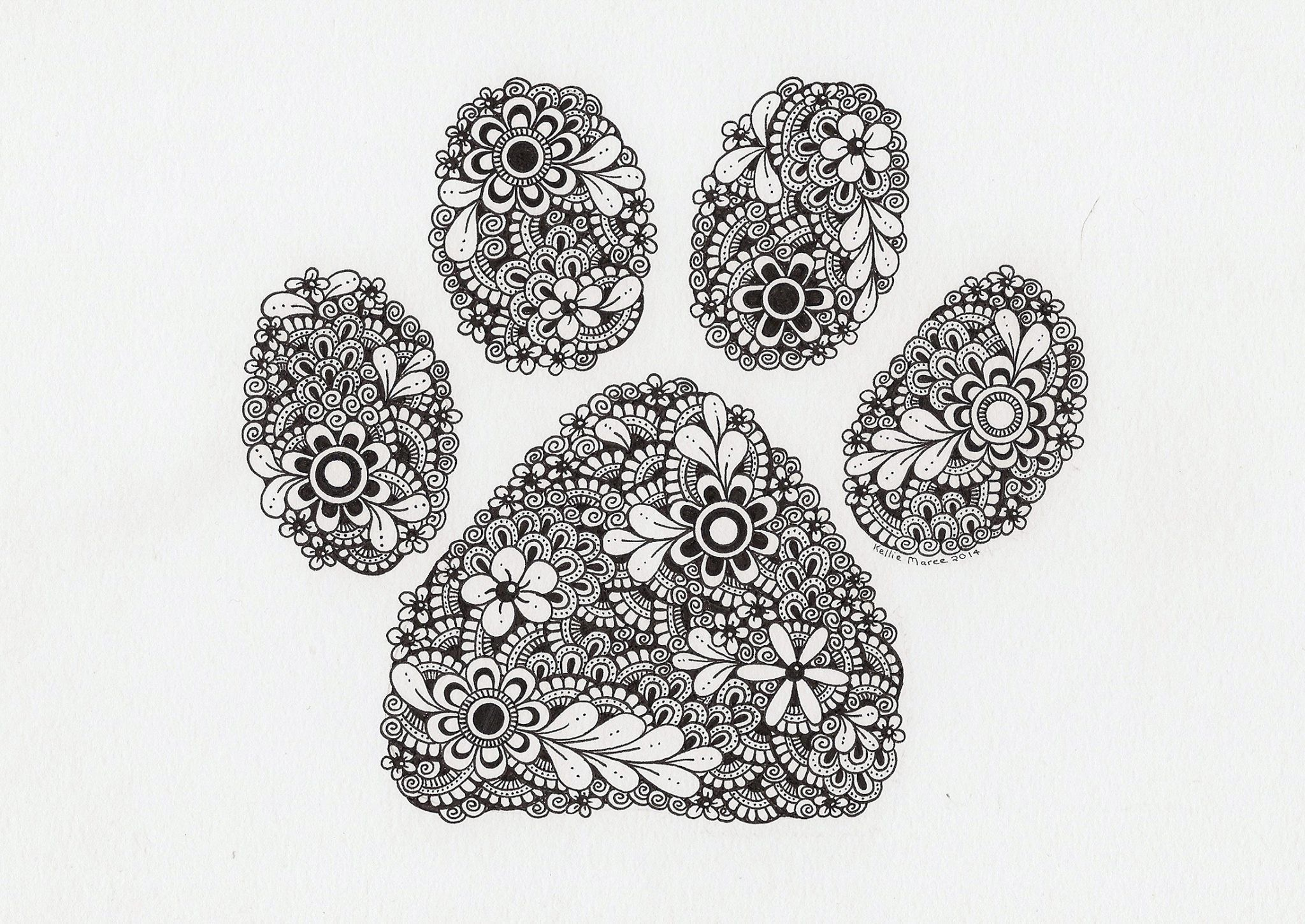 Mandalas Para Colorear Con Animales Y Zentangles: Pin By To TheLimit On Zentangle