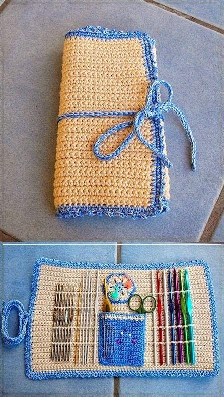 50 Most Beautiful Crochet Ideas For You Free Patterns Latest Fashion Trend Crochet Hook Case Crochet Patterns Crochet Case