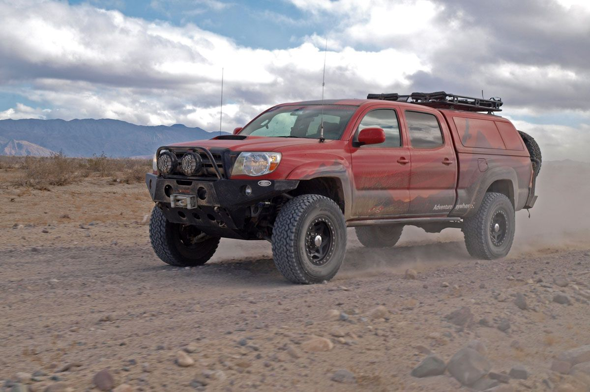Expedition style 2008 Toyota Pimped for overland