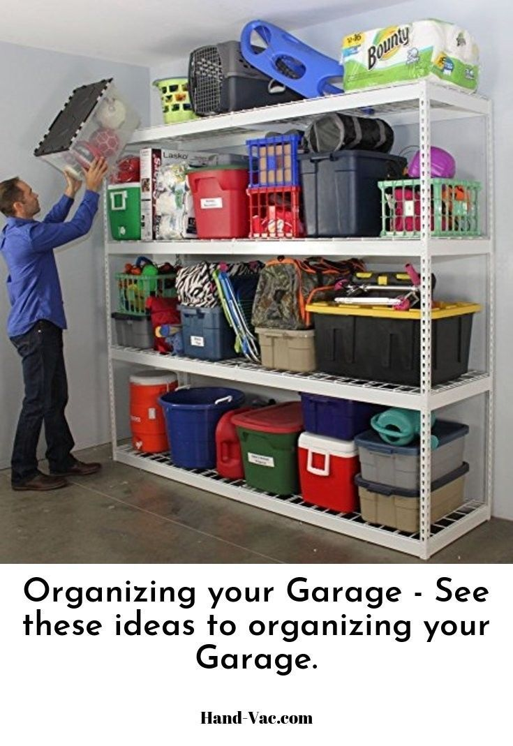 Tips On How To Organize A Garage Garageorganizationtips
