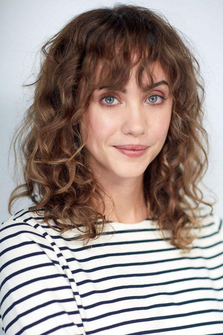 49++ Wavy hair with bangs trends
