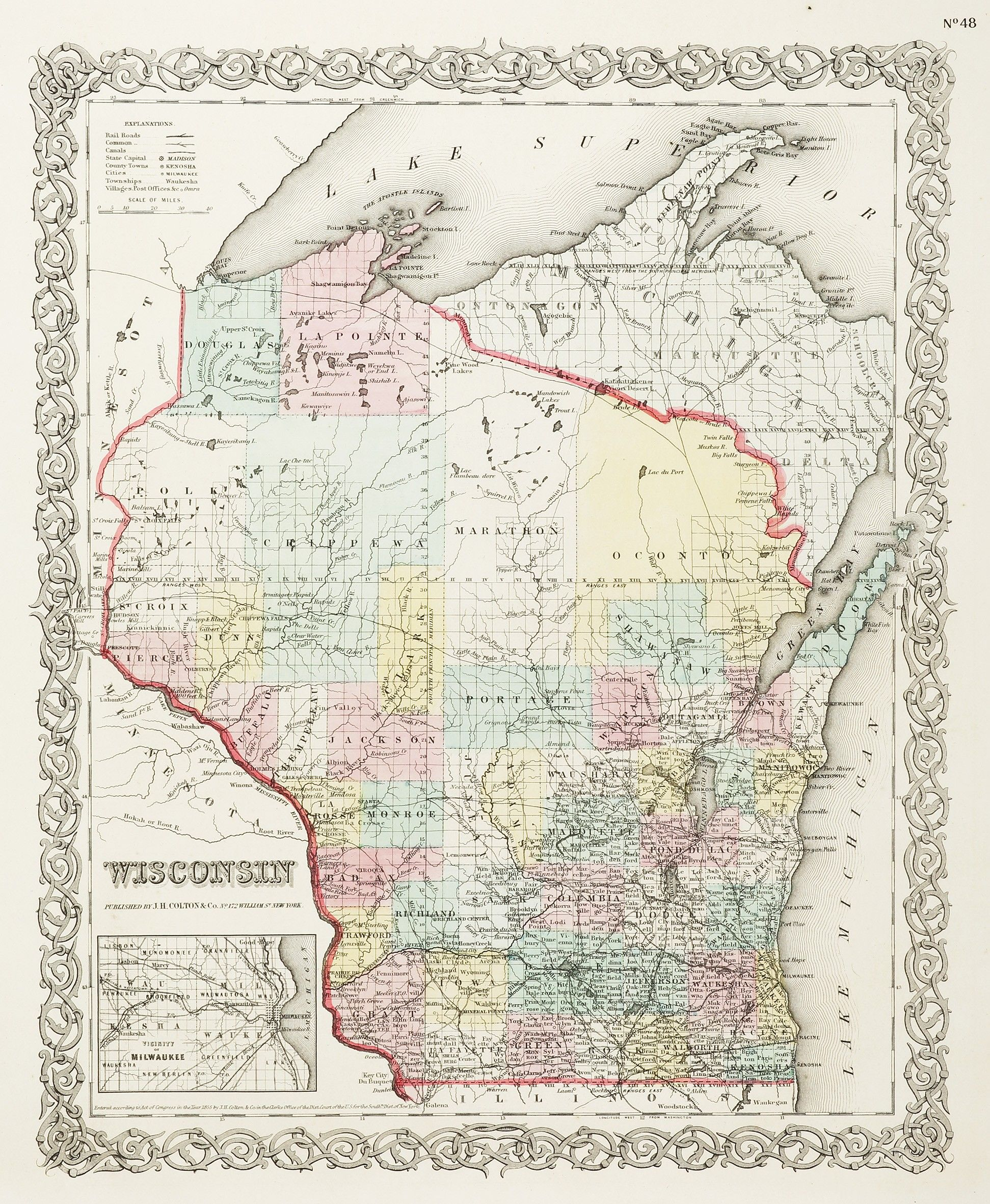 Wisconsin | Maps of United States & North America | Wisconsin ... on wisconsin world map, wisconsin indian map, wisconsin map of islands, wisconsin usa map,