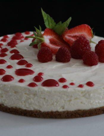 Le Cheesecake sans cuisson   Recette   Gâteau aux pommes ...