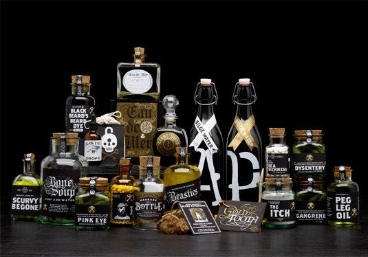 Pirate Supply Store on Packaging of the World - Creative Package Design Gallery