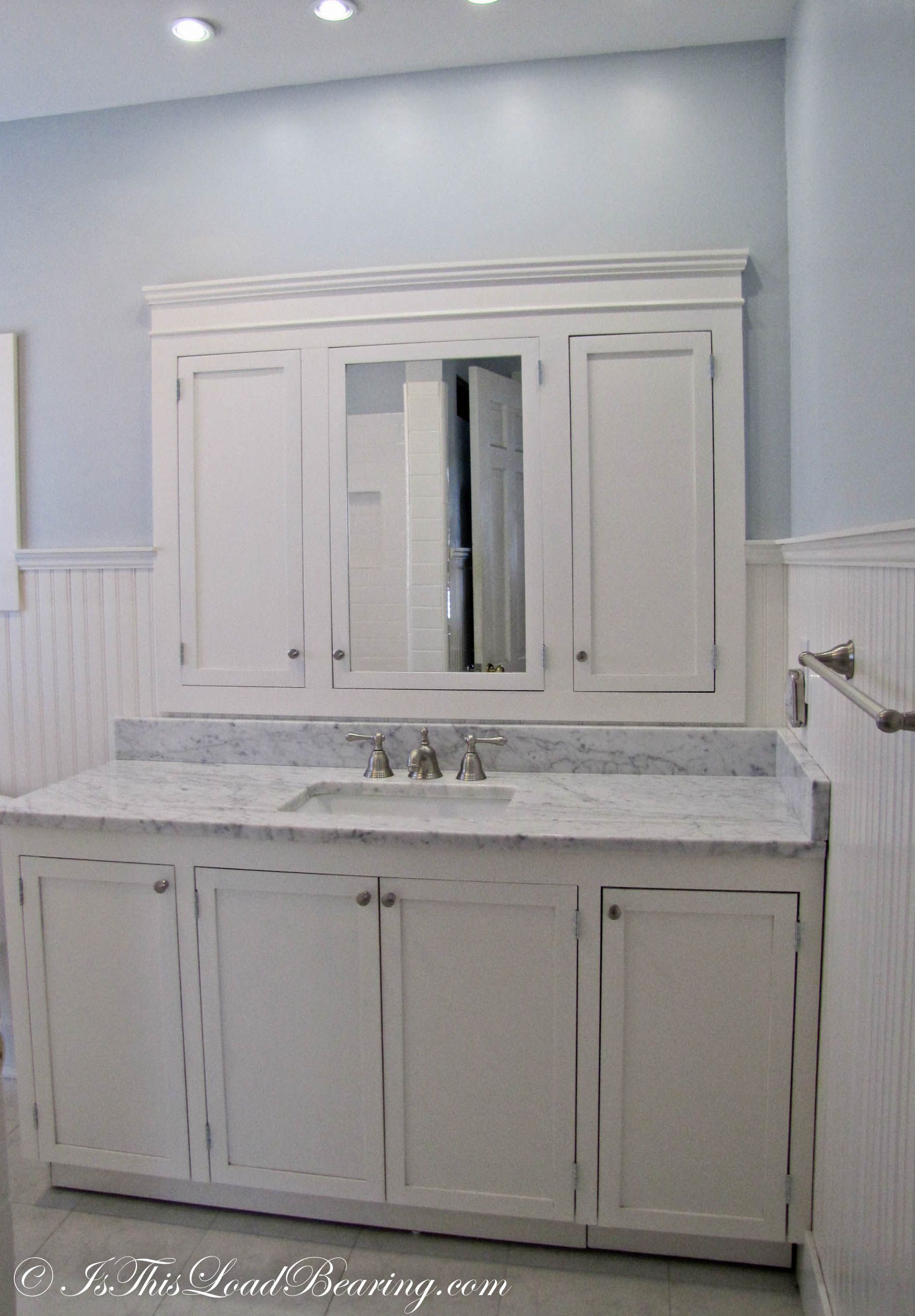 Master Bathroom Big Reveal Custom Bathroom Cabinets Custom