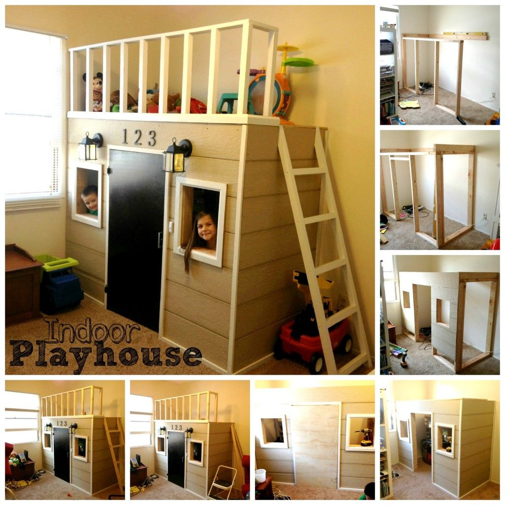 Indoor Playhouse....Kaydence Would Lovee This!