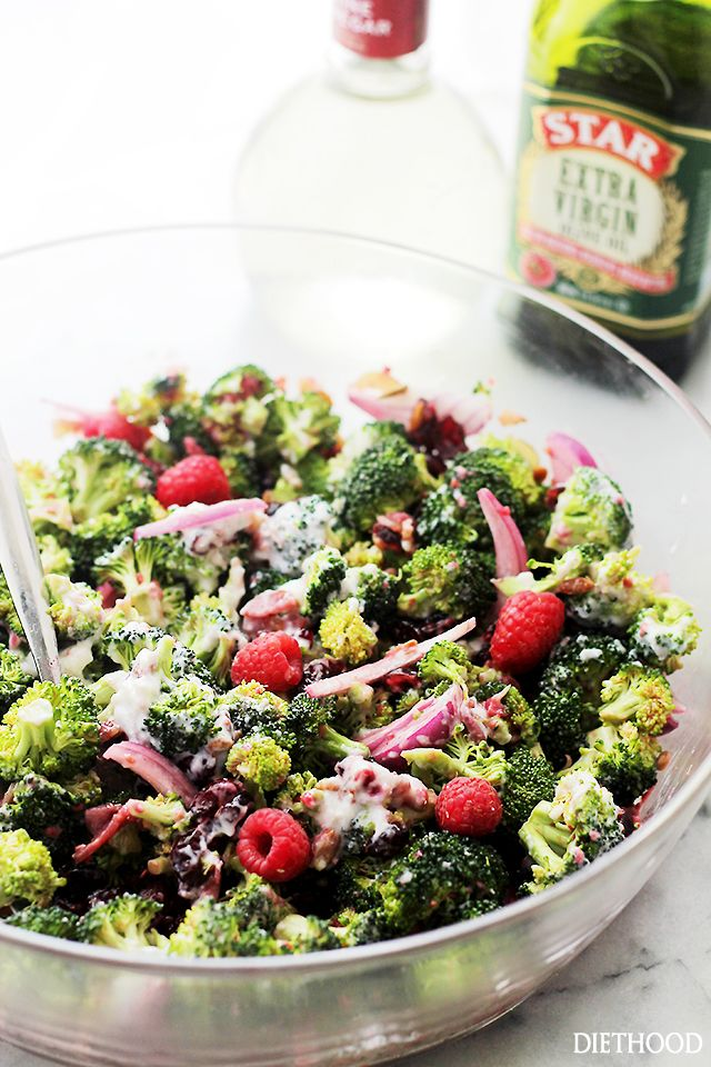Broccoli Salad Recipe Vinaigrette