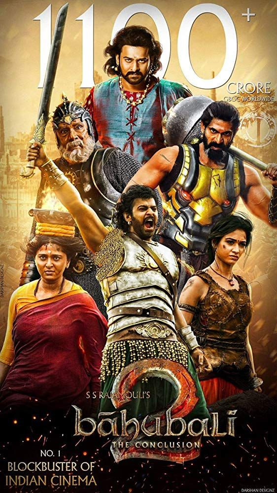 Baahubali 2 The Conclusion (2017) Not Rated 2h 47min