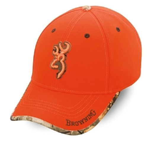 New-Browning-Realtree-Sure-Shot-Blaze-Orange-Cap-Hat -308380011-Hunting-Fishing 5866ce7c647
