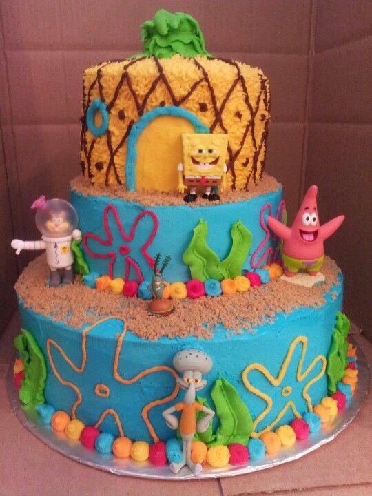Spongebob Cake Holly S Buttercream Cakes Birthday Cake