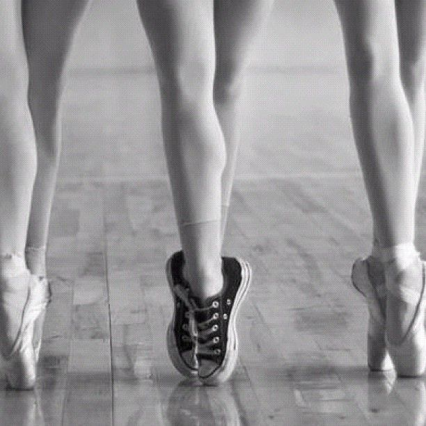 chuck taylor does ballet