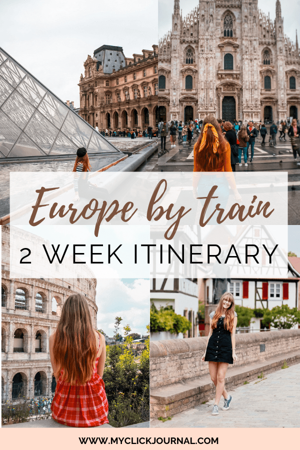 Europe 2 week itinerary - Europe by Train Travel Guide -  - #Europe #guide #Itinerary #Train #travel #Week