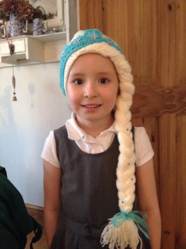 Make It: Elsa Crochet Hat - Free Pattern & Tutorial. FREE PATTERN 11 ...