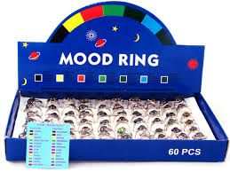 I got my first Mood Ring at age 8, it stopped working by age 12.