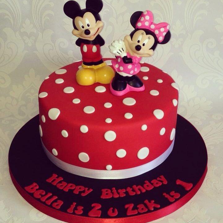 Pin Pa Festa Infantil Tema Mickey Especial Bolos