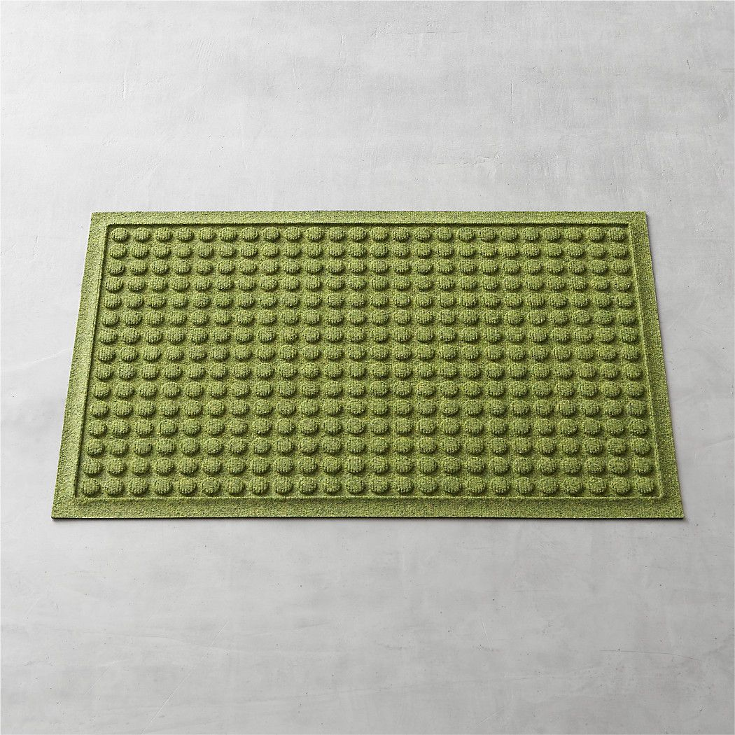 Thirsty Dots Green Doormat 22 Quot X34 Quot Reviews Crate And