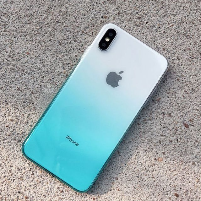 Gradient Color iPhone Case iPhone Cases For iphone X XS