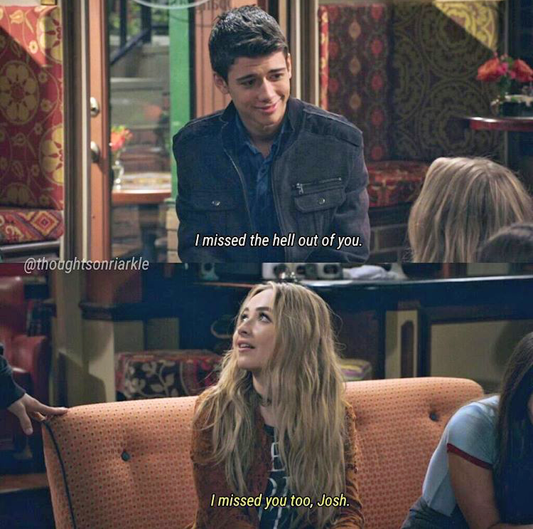 girl meets world maya and josh Maya has been romantically interested in josh since the day they met, although josh did not reciprocate the feelings as he found maya's attraction towards him uncomfortable due to their age difference however, after maya confessed her feelings to josh in girl meets the tell-tale-tot, josh realized that maya is growing up.