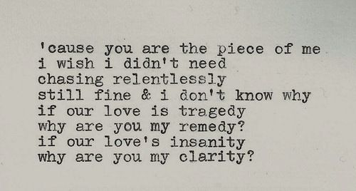 Zedd Clarity Tumblr Absolutely 3 This Song Words