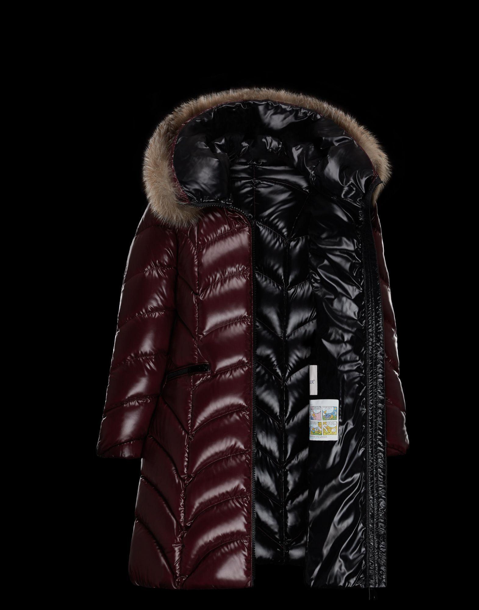 Moncler Down Jackets Albizia Fur Long Down Coat 14 Down Jacket Long Outerwear Jackets [ 2000 x 1571 Pixel ]