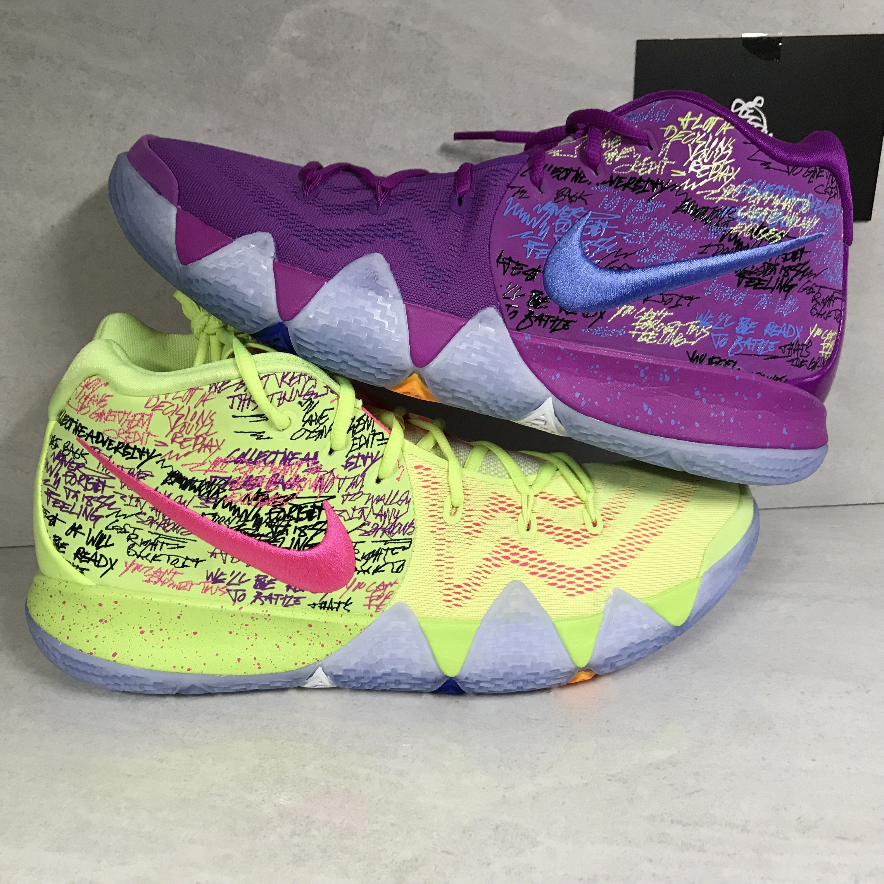 118746a85d10 DS Nike Kyrie 4 Confetti Size 13 Size 14