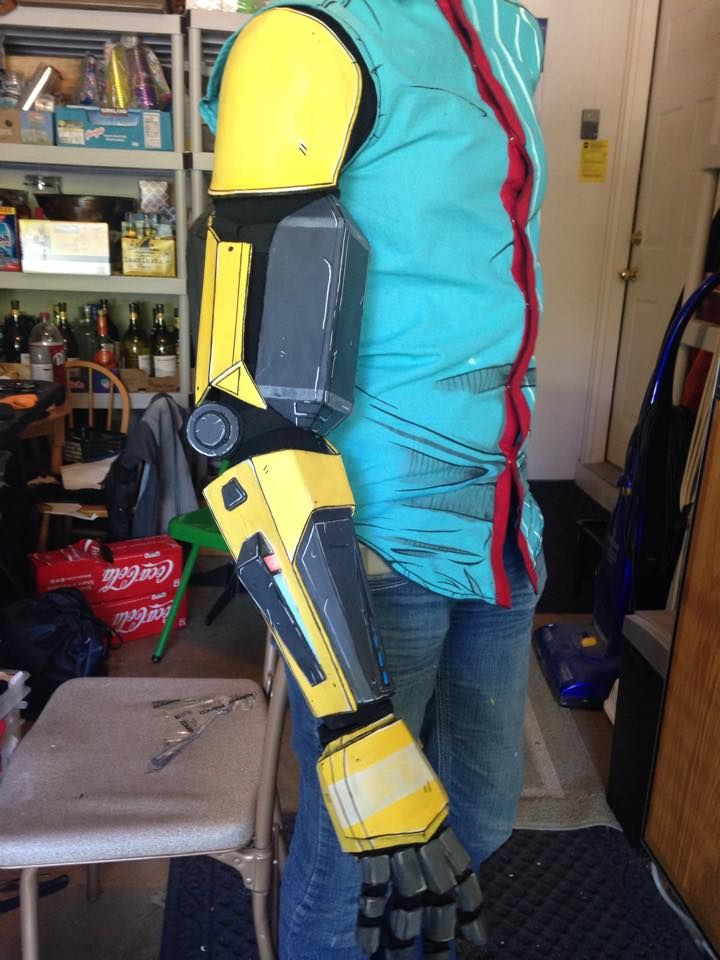 Image result for rhys robot arm | Cosplay | Cosplay armor
