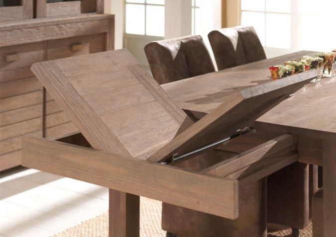 Table De Salle A Manger Avec Rallonge Muebles Diseno Industrial Disenos De Unas