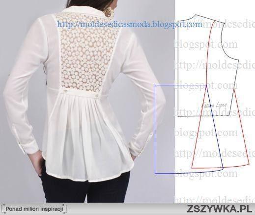 Zobacz zdjęcie koszula wykrój w pełnej rozdzielczości