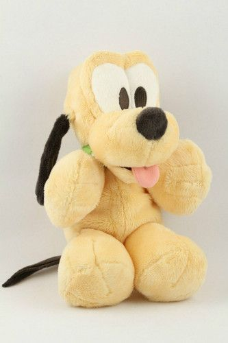 e726d703256 Disney Parks Baby Pluto Dog 10 in. Plush Stuffed Animal Toy  Cart Envy