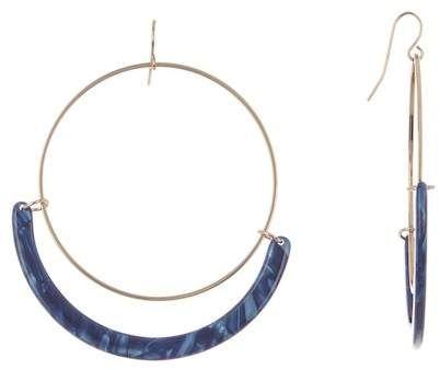 BLACK DIAMOND ACCESSORIES | Full Circle Acetate Tortoise Hoop Earrings  | Nordstrom Rack