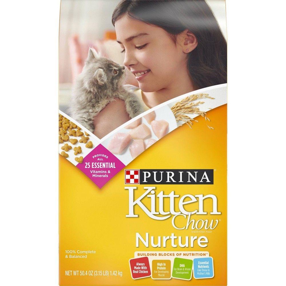Purina Kitten Chow Nurture Dry Cat Food 3 15lbs Size 3 15