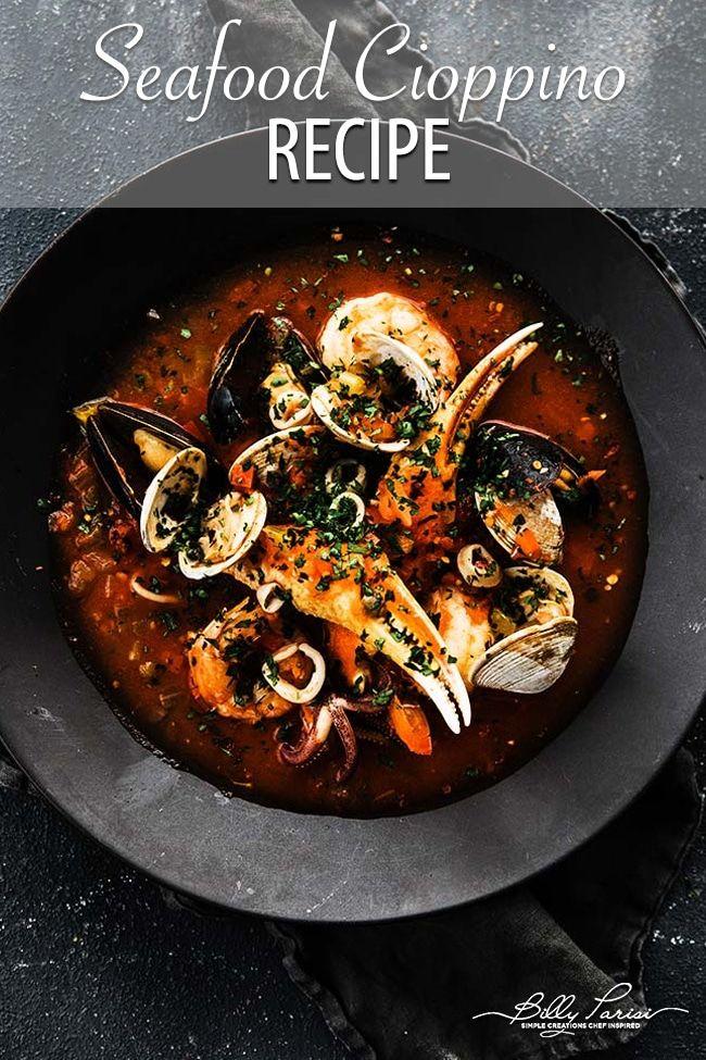 Cioppino Recipe #seafoodstew