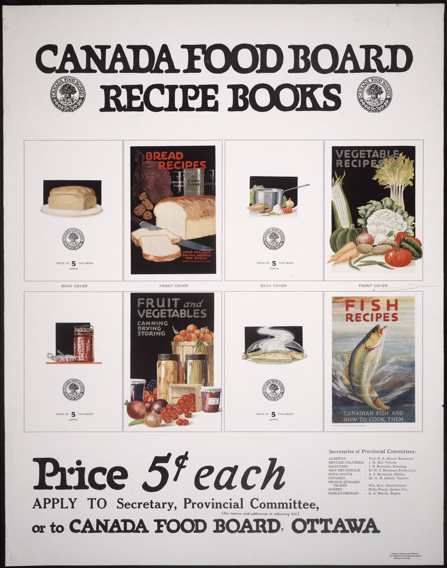 The Canada Food Board Published Recipe Books During Wwi To Encourage Canadians To Save Food And To Put Food By They S Canada Food Recipe Book How To Cook Fish