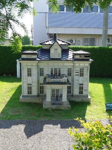 模型で見る明治 大正の擬洋風館と商家 ホームウェア 建築 建物