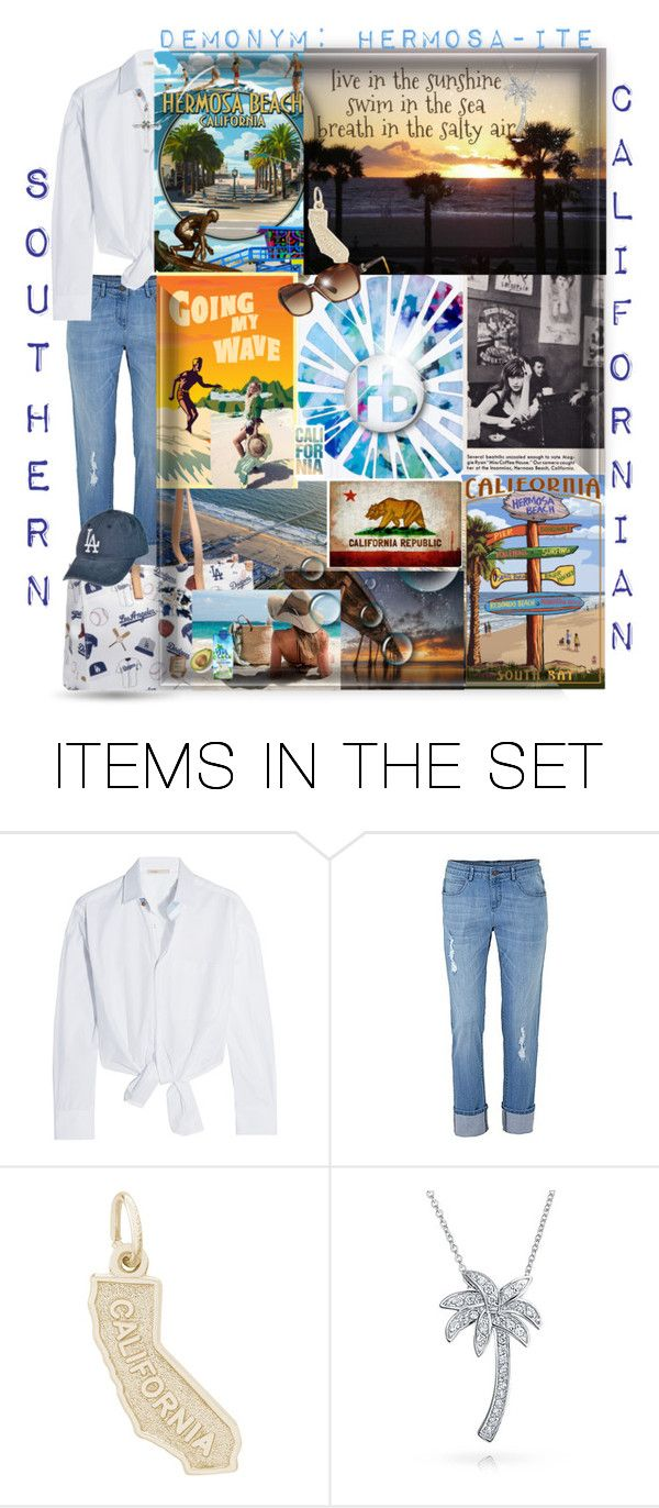 """""""Demonym"""" by easy-dressing ❤ liked on Polyvore featuring art, groupcontest, polyvoreart, californian and Demonym"""