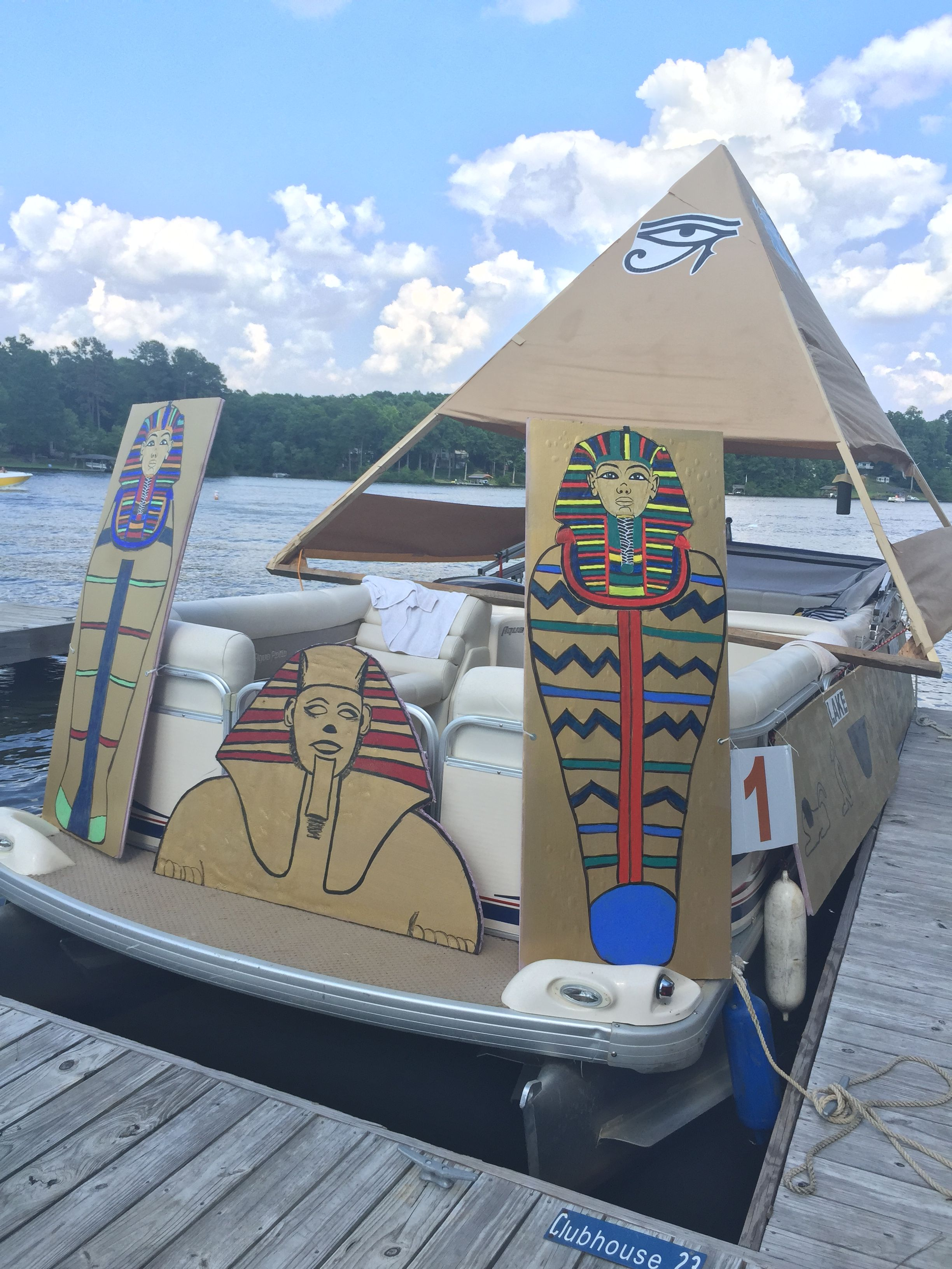 Fantasy Vacation Destination Boat Parade at Lake Royale, NC