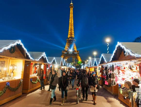 Paris Marché De Noel marché de noel | Eiffel tower tour, Paris christmas market