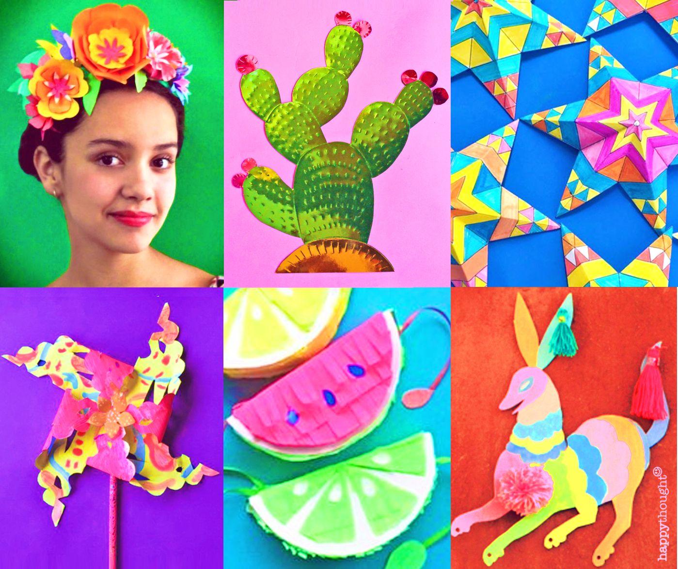 Cinco De Mayo Craft Activity Printable Pack Con Imagenes