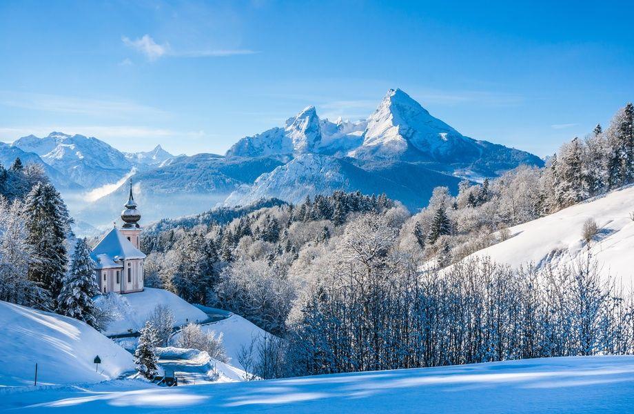 Winter Landscape With Snow 4k Ultra Hd Wallpaper 4k Wallpaper Net Natureza Fotos Paisagens
