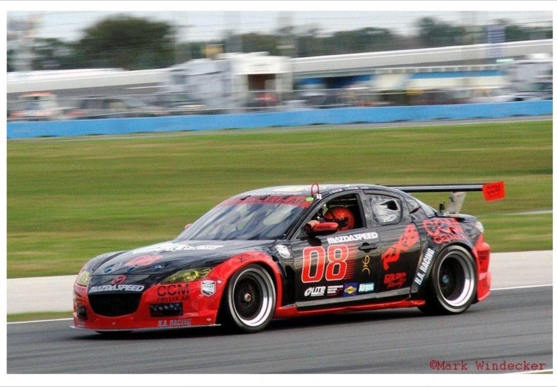 Mazda Rx8 Gt Race Car 20b Rotary Imsa Grand Am Scca Hsr Race Cars