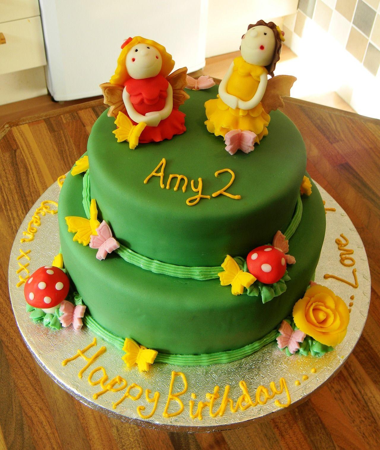 I ♥ CAKE Butterflies and Fairies Cake