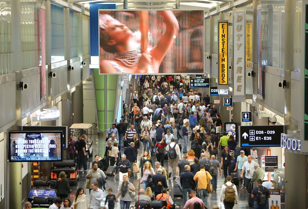 Aviation Miami Airport Closes Security Checkpoint At Terminal G