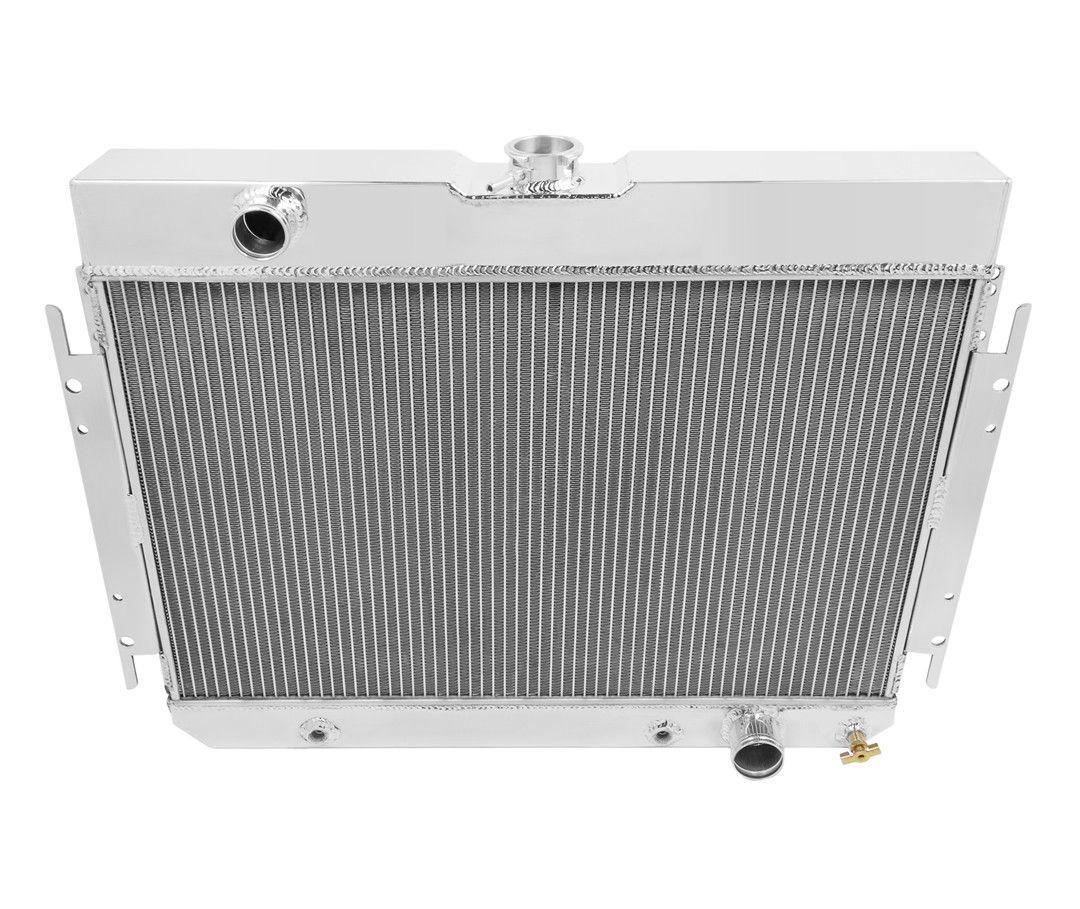 1963-1968 Chevy Bel Air Aluminum 2 Row CHAMPION Radiator